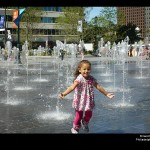 Dilworth Park in Philadelphia, water feature designed by CMS Collaborative